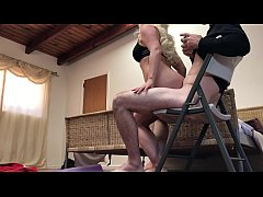 Annoying stepbrother gets in my pussy while I d...