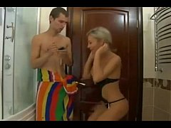 Hot Russian Mom fucks...