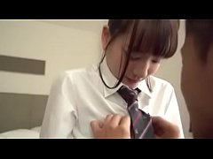 Japanese schoolgirl Mikako fucks older guy - nanairo.co