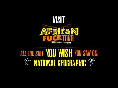Sex Tourist Bangs Busty African Chick