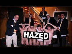 GAYWIRE - College Frat Boys Record The Pledges Being Hazed And It's Hilarious