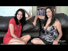 jerk off instructions with Zoey and Raylene