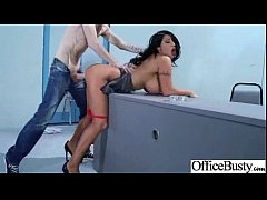 Hot Intercorse On Cam With Busty Girl In Office video-04