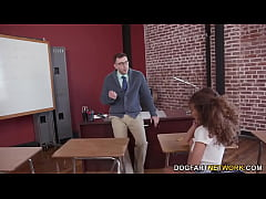 Cecilia Lion Takes Her Teachers Cock For Extra ...