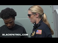 BLACK PATROL - Officers Maggie Green and Joslyn...