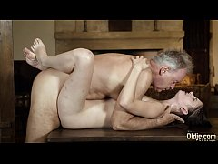 Old english teacher has sex with his sexy young...