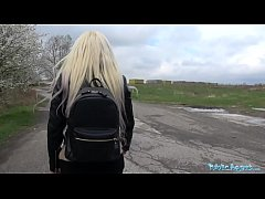 thumb public agent  cute russian teen blonde fucked on wasteland