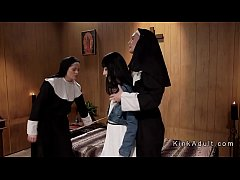 thumb two sisters anal punished nun