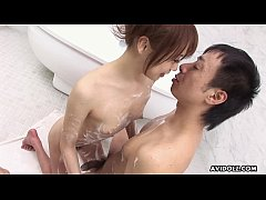 Delectable Asian babe has a sopay dick want to perform