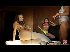 GIRLS GONE WILD - Teen Club Girls Liza & Olivia...