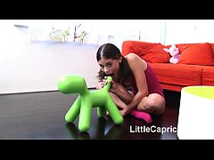 Little Caprice sucking and...