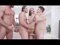 Zoe Sparks 6on1 Manhandle, Balls Deep Anal and ...