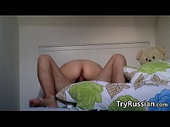 Horny Russian Couple Having Sex At Home