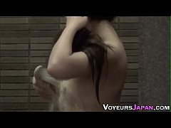 Naked asian teens shower...