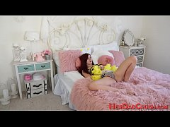 Hot stepdaughter jizzed