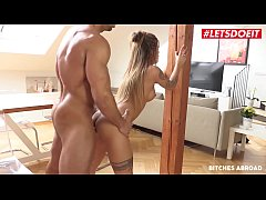 LETSDOEIT - Local Gym Trainer Has Amazing Sex With A New Girl In Town That She Just Got Lost - Silvia Dellai