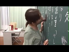 Japanese teacher gives a valuable lesson at the...