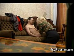 Russian Granny And Her...