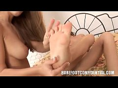 Andie Valentino and Tiffany Sweet foot fetish -...