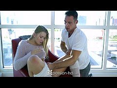 Passion-HD - Melissa May sits on Johnny Castles...
