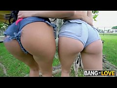 Julz Gotti and Alina Belle Big Booty 3some By T...
