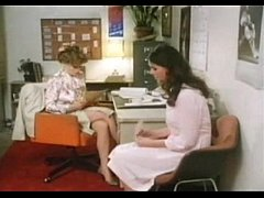 Vintage clip - Teacher and her pupil