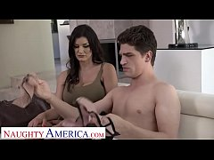Naughty America Becky Bandini fucks to keep her...