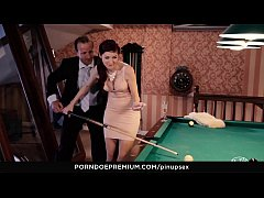 VIP SEX VAULT - Pool Table Fantasy Fuck With St...