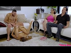 Moka Mora Fucks In Front Of Parents