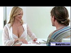 (julia ann) Horny Busty Wife In Hard Style Bang On Cam mov-15