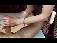 Pegging Massage! ShandaFay fucks a Man With A Strapon!