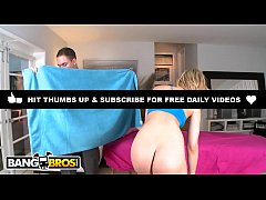 BANGBROS - Big Booty Blonde Alexis Texas Gets Massage, And Some Dick