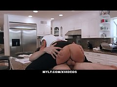 MYLF - Big Fake Tits Milf Goes Down On Young Stud
