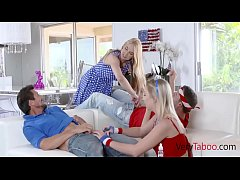 Patriotic StepFamily Sex-celebrates July 4th!