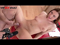 VIP SEX VAULT - #Morgan Rodriguez - Czech Pretty Teen Takes Daddy's Cock On Hardcore Sexy Auditions