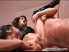 BDSM session with two awesome sex ladies