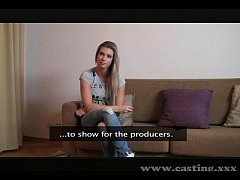 Casting Hot blonde with...