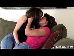 Milf Deauxma Plays with Hot Lesbian!