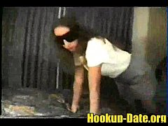 Gangbang with blindfold mature amateur gets fuc...