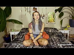 Naughty Natie Lets Her Inhibitions Go