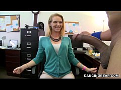 CFNM Office Party Cock Blowout with Big Dick Ma...