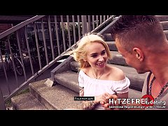 HITZEFREI.dating CAUGHT by POLICE: Blonde Girl ...