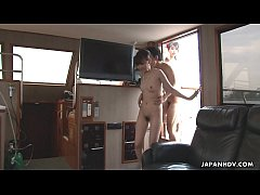 Clip sex Group fuck on a boat with beautiful busty Asian bitches
