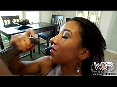 WCPClub Black beauty Sophia Fiore loves a big b...