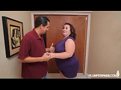 Busty BBW MILF Lady Lynn Fucks Landlord to Save...