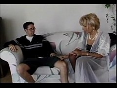 Mature russian stepmother fucks son