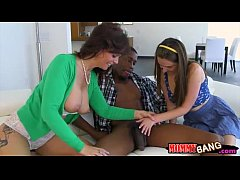 Elektra Rose and Syren Demer threesome with bla...