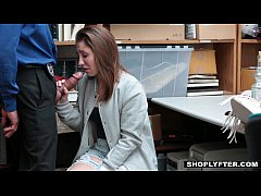 Shoplyfter - Cute Teen Fucks Her Way Out Of Tro...