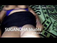 hot mature aunty sugandha fucking with sexy voice in hindi