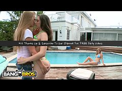BANGBROS - Party Of 3 With Katie Cummings, Merc...